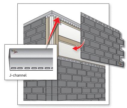 Установка фасадной панели своими руками