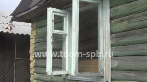 демонтаж старого окна на даче