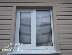 Обшивка арочных окон сайдингом своими руками: фото