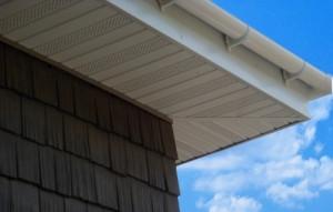 софиты сайдинга, подшивка крыши