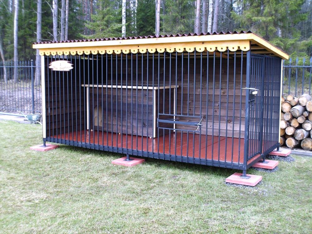 фото вольеров для собак фото